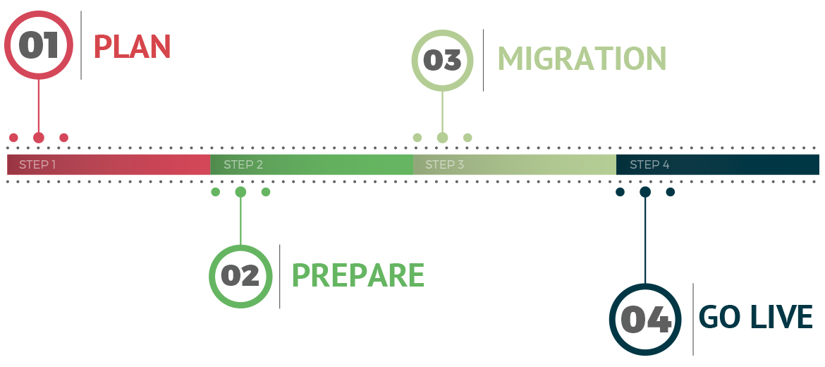 migration process graphic